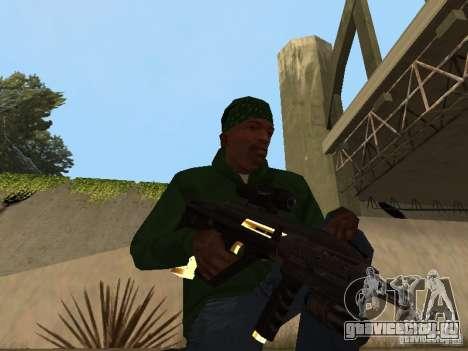 Пак золотого оружия для GTA San Andreas седьмой скриншот
