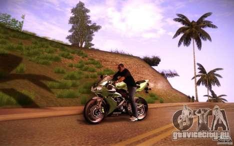Yamaha YZF R1 для GTA San Andreas вид слева
