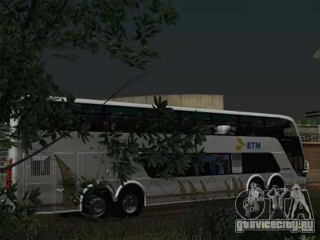 Busscar Panoramico DD 8x2 для GTA San Andreas двигатель