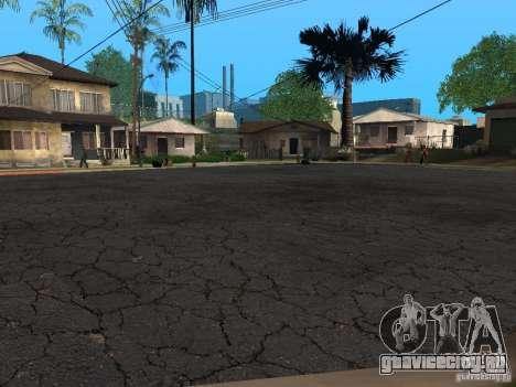 Новые дороги на Гроув-Стрит для GTA San Andreas второй скриншот