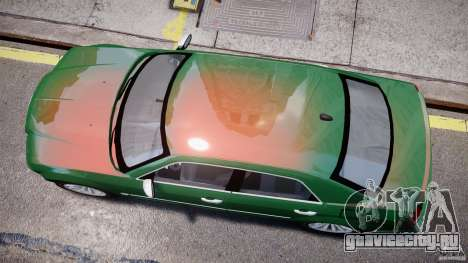 Chrysler 300C SRT8 Tuning для GTA 4 вид изнутри