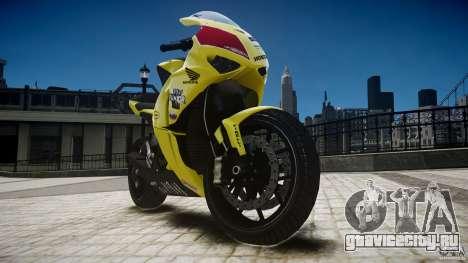 Honda CBR1000RR для GTA 4