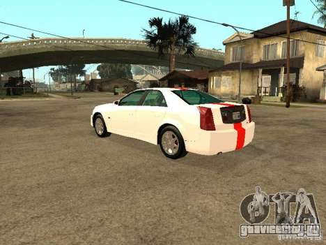 Cadillac CTS 2003 Tunable для GTA San Andreas вид слева