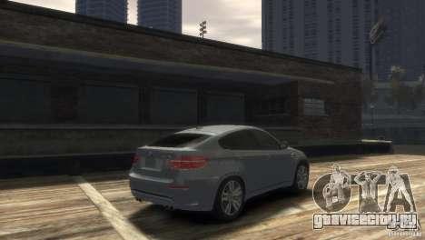 BMW X6M для GTA 4 вид сзади слева