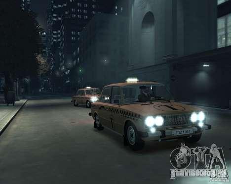 ВАЗ 2106 Такси для GTA 4 вид сбоку
