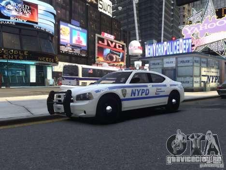 Dodge Charger NYPD для GTA 4