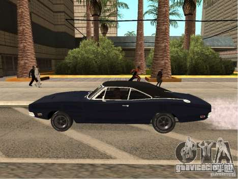 Dodge Charger RT Light Tuning для GTA San Andreas вид слева