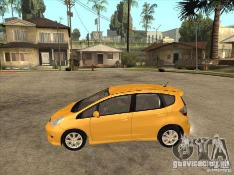 Honda Jazz (Fit) для GTA San Andreas вид слева