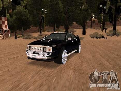 Hummer H0 для GTA San Andreas