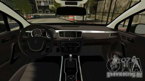 Peugeot 508 Presidentielle ELS для GTA 4