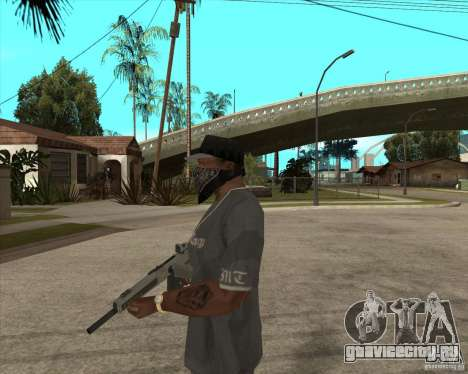 Atchisson assault shotgun (AA-12) для GTA San Andreas второй скриншот