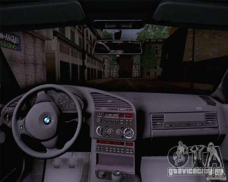 BMW M3 E36 1995 для GTA San Andreas вид сзади слева