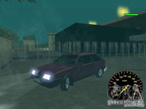 ВАЗ 2108 classic для GTA San Andreas вид сзади
