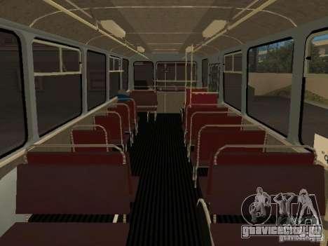 ЛиАЗ 677 для GTA San Andreas вид сзади