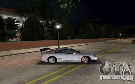 Nissan Silvia spec R Tuned для GTA Vice City вид слева