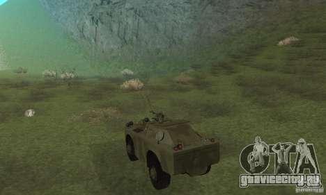 БРДМ-1 Скин 3 для GTA San Andreas вид справа