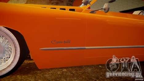 Buick Custom Copperhead 1950 для GTA 4 двигатель