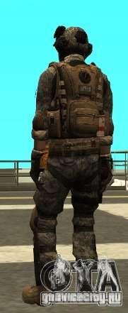 USA Army Special Forces (FIXED) для GTA San Andreas третий скриншот