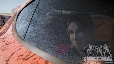 Porsche Panamera Turbo 2010 Black Edition для GTA 4 вид справа