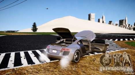 Audi R8 2008 для GTA 4 вид сверху