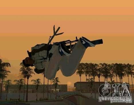 Набор анимации из GTA IV для GTA San Andreas пятый скриншот
