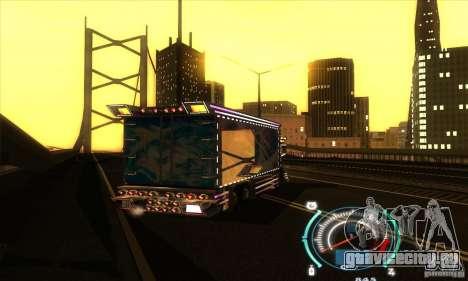 Японский грузовичок для GTA San Andreas вид сзади слева