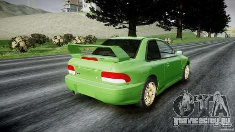Subaru Impreza 22b 1998 (final) для GTA 4 вид сбоку