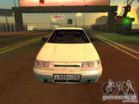 ВАЗ 2110 для GTA San Andreas вид слева