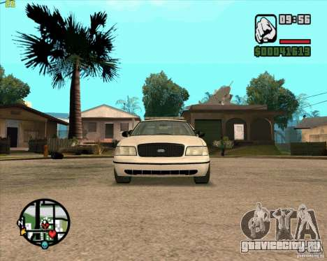 Ford Crown Victoria Baltmore County Police для GTA San Andreas вид слева