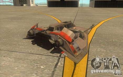 T-47 Snowspeeder для GTA San Andreas салон