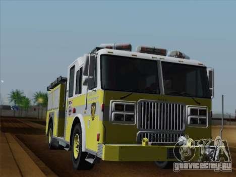 Seagrave Marauder II BCFD Engine 44 для GTA San Andreas салон