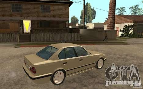 BMW 535i e34 AC Schnitzer для GTA San Andreas вид справа