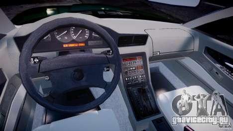 BMW 850i E31 1989-1994 для GTA 4 вид справа