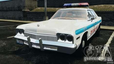 Dodge Monaco 1974 Police v1.0 [ELS] для GTA 4