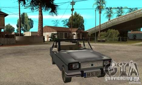 Anadol A1 SL 1975 для GTA San Andreas вид сзади