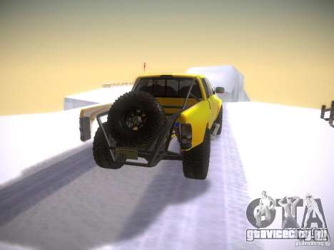 Dodge Ram Prerunner для GTA San Andreas вид сзади слева