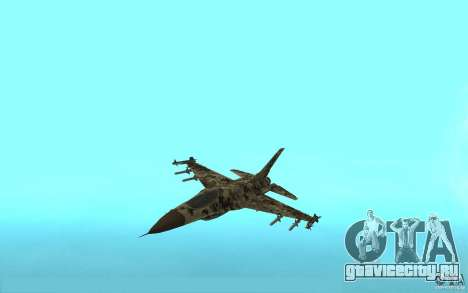 F16C Fighting Falcon для GTA San Andreas