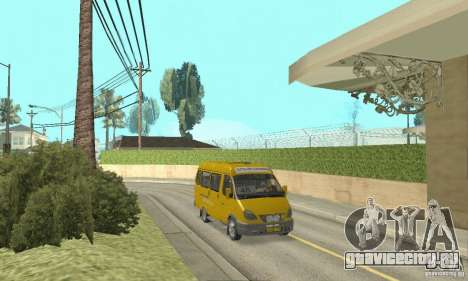 Газ 2705 Маршрутка для GTA San Andreas