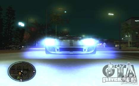 Xenon v4 для GTA San Andreas