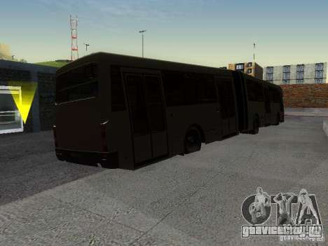 ЛАЗ-А291 для GTA San Andreas вид сзади