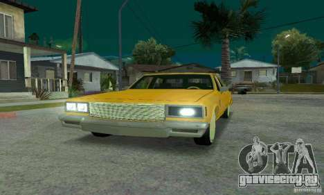 Chevrolet Impala 1977 Lowrider для GTA San Andreas