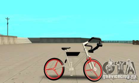 Wind Solar MT Bike для GTA San Andreas вид сзади слева