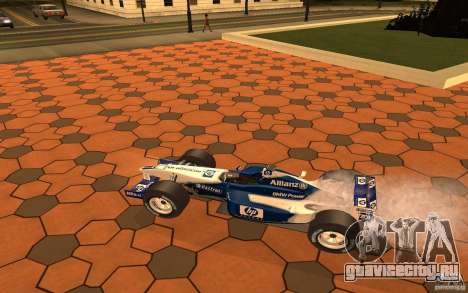 BMW F1 Williams для GTA San Andreas вид сзади слева