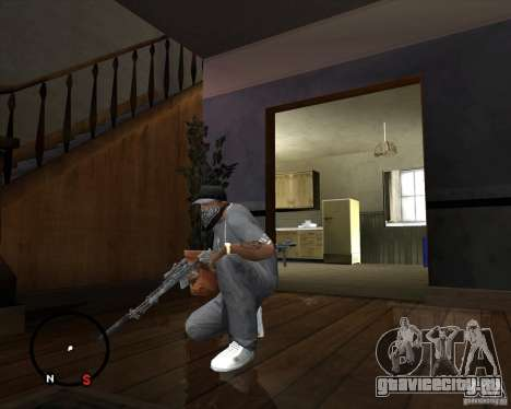 M14 EBR для GTA San Andreas третий скриншот