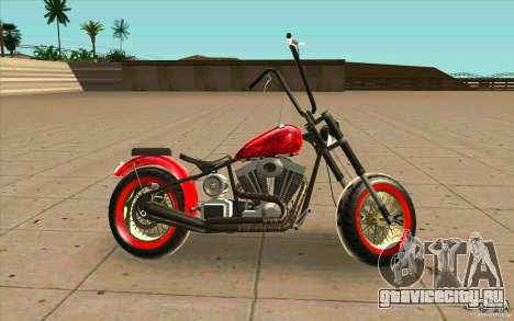 Zombie GTAIV для GTA San Andreas вид слева