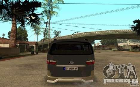 Hyundai Starex для GTA San Andreas вид справа