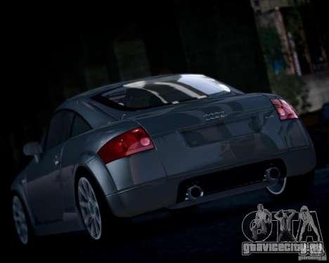 Audi TT 2004 для GTA 4 вид справа