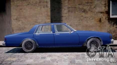 Chevrolet Impala 1983 [Final] для GTA 4 вид сверху