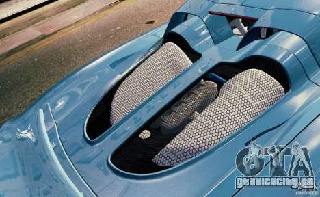 Porsche Carrera GT для GTA 4 салон