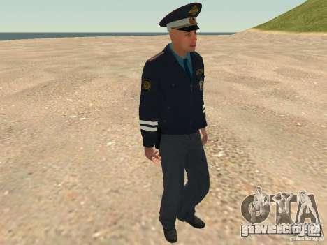 Майор ДПС для GTA San Andreas десятый скриншот